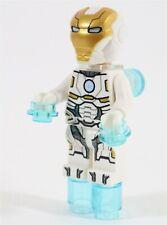 LEGO AVENGERS WHITE SPACE IRON MAN ARMOR MINIFIGURE 76049 - MARVEL SUPERHEROES