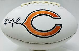 Chicago Bears Khalil Mack Signed Logo Football Autographed - Beckett BAS COA