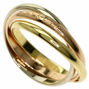 CARTIER   Ring Trinity XS #47 K18 Yellow Gold K18 White Gold