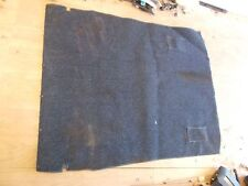 Nissan Pulsar NX SE Blue Rear Hatch / Back Seat Carpet 87 88 89 90 Used OEM