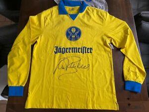 Paul Breitner, unterschriebenes Eintracht Braunschweig Trikot