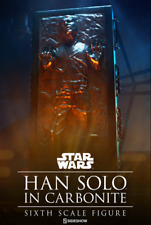 Star Wars Sideshow Collectibles Han Solo in Carbonite 1 6 Scale Figure