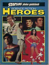 Science Fiction Heroes #1 Starlog Photo Guidebook Star Wars Superman Star Trek