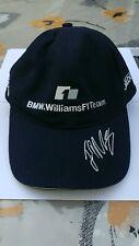 Casquette cap hat BMW WILLIAMS F1 FORMULE 1 team FORMULA