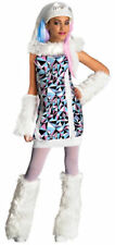 NEW Abbey Bominable Monster High School WIG & Costume Girls Halloween Dress Up