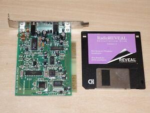 "Radio Reveal - PC PCI Card Interface + 3.5"" Disc Software : Tune in FM Radio"