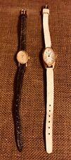 2 X Vintage Sekonda USSR 17 Jewels Ladies Watches-Mechanical-Working Condition