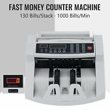 1000min Bank Note Counting Machine Currency Counter Machine For 130 Bill Stacks