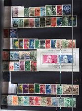 SCHWEIZ - Sammlung o 1946 - 1987 im STECKBUCH (13251N)