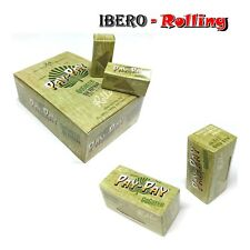 Caja papel de fumar Pay Pay Rolls, papel fumar de alfalfa sin refinar ecológico