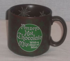 PENZEYS HOT CHOCOLATE MIX WITH A HINT OF MINT COLLECTOR MUG #3057 NEW