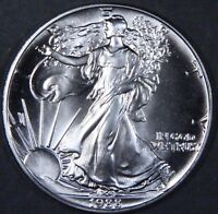 1988 1 oz AMERICAN SILVER EAGLE BRILLIANT UNCIRCULATED ASE  SKU1988B