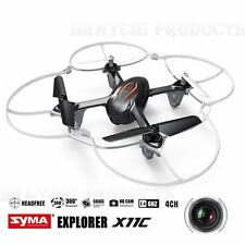 SYMA Drone Quadcopter X11C Air RTF Mini 2.4G 4CH 6Axis 2MP Camera LED 360° Rolls