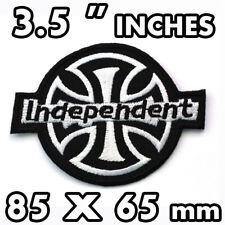 INDEPENDENT Embroidered Iron On Patch TRUCK COMPANY Skateboard Jacket Shirts DIY