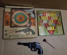 Wyandotte Crack Shot Dart Gun With Steel Target & Dart in the Original Box WORKS