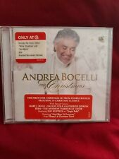 Shelf162C AUDIO CD NEW~ Andrea Bocelli my Christmas
