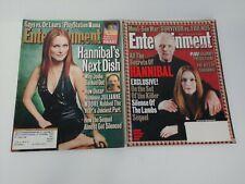 Entertainment Weekly Magazine Lot of 2 Julianne Moore Hannibal 2000 2001