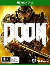 Xbox One X Doom First person shooter Console Game Brand New Sealed R18