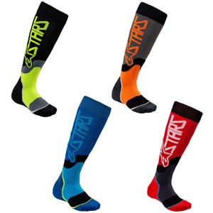 Mens Alpinestars MX Plus-2 Socks For MX ATV Enduro Riding Racing Medium or Large