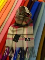 100% Pure Cashmere Scarf | The House of Balmoral | Old Town Mulberry | Modern
