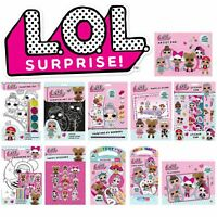 LOL Surprise -  Lots of Fun Stickers and Colouring Activities