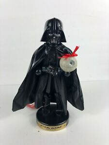 "NWT Darth Vader W/Death Star~ STAR WARS Nutcracker Kurt Adler Collect Disney 10"""