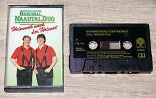 Original Naabtal Duo - Heimweh nach der Heimat (1990) Musikkassette, MC, gebr.