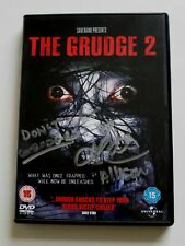 THE GRUDGE 2 DVD SIGNED BY ARIELLE KEBEL VAMPIRE DIARIES FIFTY SHADES HORROR