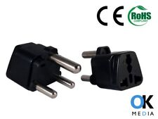EU US UK to South Africa Travel Adaptor Type M Power Plug  Adapter 13 Amp