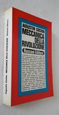 Augustin Cochin MECCANICA DELLA RIVOLUZIONE prima edizione LIBRO STORIA RIV FRA