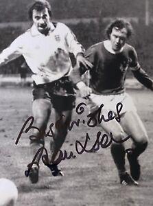 Alan Hudson Genuine Hand England 6X4 Photo