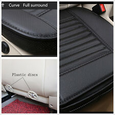 PU Leather Car Seats Protect Mat Cover Car Seat Cover Pad Breathable Cushion New