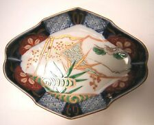 Arita porcelain, signed, Imari, Japanese 18/19th Cent., with relief green glaze