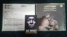 LEONID KOGAN - BEETHOVEN VIOLIN CONCERTO. CD TESTAMENT
