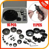 16PCS Hole Saw Cutting Set Kit Drilling Tool Wood Metal Cutter 19-102mm  BI