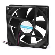 90mm x 25mm 9025 2pin 12V DC Brushless PC Case CPU Cooler Cooling Fan B6Z6