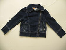 ROXY KIDS 2T-6X JACKET MEDIUM 5M BLUE JEAN ROCK &  ROLL