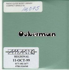 (BE786) Ooberman, Tears From A Willow - 1999 DJ CD