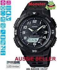 AUSSIE SELLER CASIO TOUGH SOLAR AQ-S800W-1BV AQS800 AQS800W 12-MONTH WARANTY