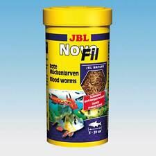 JBL novofil - 250ml - Novo fil rouge larves de moustiques Supplément alimentaire