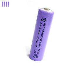 4 pcs AA 2A 3000mAh 1.2V Ni-MH rechargeable battery Solar Light MP3 Toy Purple