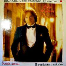 RICHARD CLAYDERMAN en concert COUP DE COEUR 2LP33T VG++
