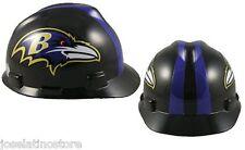MSA V-Gard Cap Type Baltimore Ravens NFL Hard Hat Pin Type Suspension FAST SHIP!