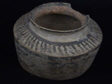 Ancient Teracotta Painted Pyxis Indus Valley 2500 BC #PT15040