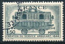 STAMP / TIMBRE FRANCE OBLITERE N°609  SERVICE POSTAL AMBULANT