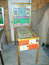 1960 Touchdown Pinball Machine by Bally