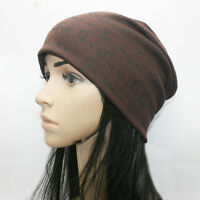 Unisex Men Women Beanie Hat Cotton Slouchy Baggy Cap Casual Ski Hip Hop Winter