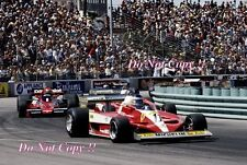 CARLOS REUTEMANN FERRARI 312 T3 WINNER USA WEST GRAND PRIX 1978 fotografia 1