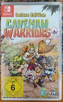 Nintendo Switch-Caveman Warriors Deluxe Edition-Italiano+artbook+colonna sonora