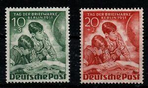Berlin Tag der Briefmarke Satz postfrisch